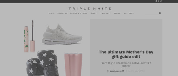 Triple White Feature: The ultimate Mother's Day gift guide edit