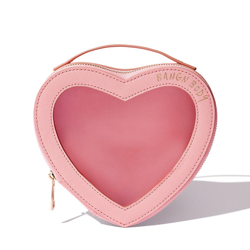 Heart Shaped Beauty Bag