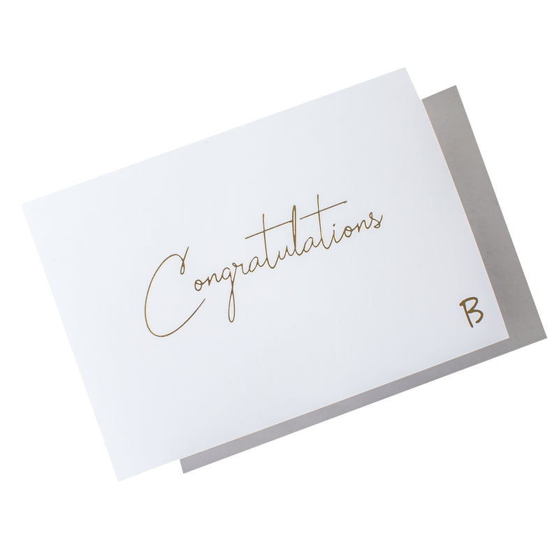 Embossed 'Congratulations' (A6)