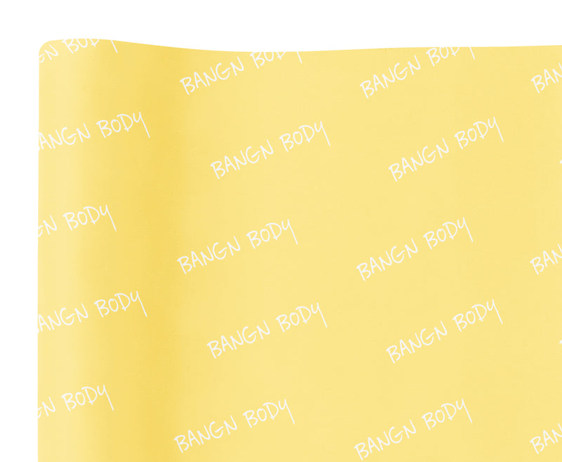 BB Yellow Tissue Paper