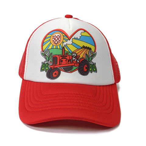 Red Lentil Trucker Hat