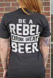 Be A Rebel Black Tee 2020
