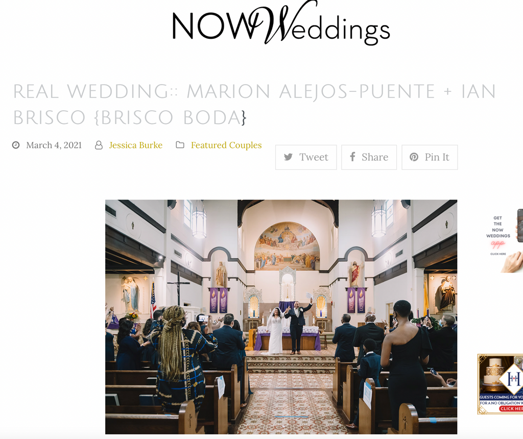 New Orleans Wedding Magazine Feature