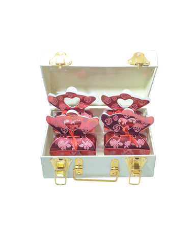 White Trunk Diwali Combo of Assorted Chocolates & Dry Fruits
