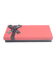 Silver Peach Chocolate Gift Pack - 21 Pralines