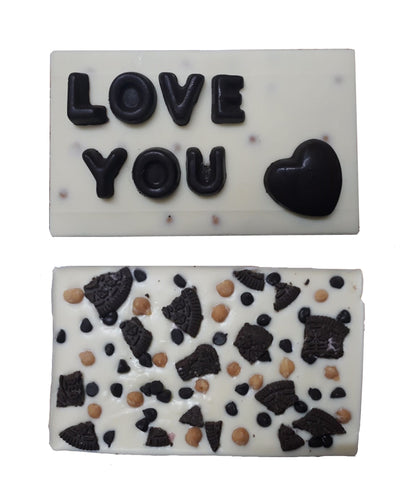 Homemade Personalized Chocolate Bar