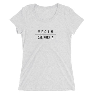 California vegan shirt