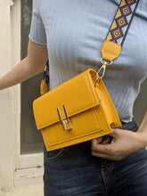 Load image into Gallery viewer, yellow over-the-shoulder bag.