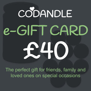 £40 Gift Card - Codandle Candles & Wax Melts