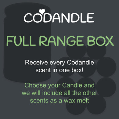 Full Range Box - Choice of Candle & 18 Wax Melts