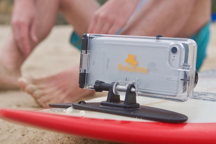 """An image says more than a thousand words...""Turning Smartphones into Action Cameras"