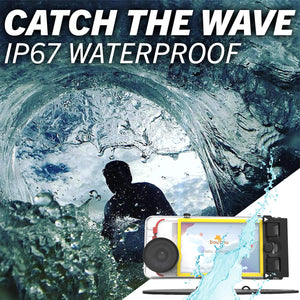 DouDou Surf Waterproof Phone Case and Mount for iPhone 6/6s/7/8