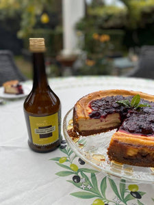 Bees Nees Honey Cream Liqueur Baked Cheesecake
