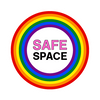 safe space alliance respect equality rainbow