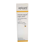 Apicare natural face care manuka face moisturiser serum