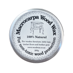 woodwax wax macrocarpa polish woodpolish 200g