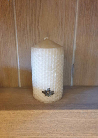 candle beeswax honeycomb medieval gift