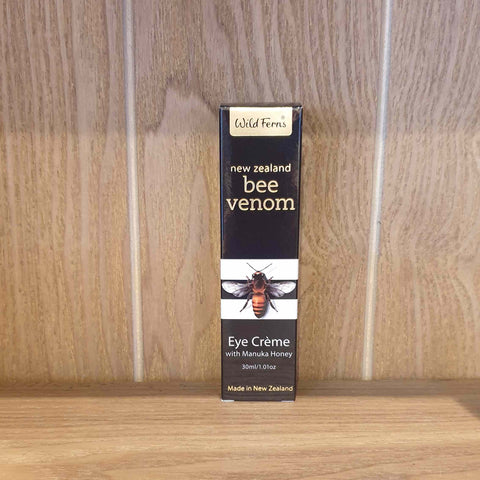 bee venom antiaging skincare cosmetics eye creme