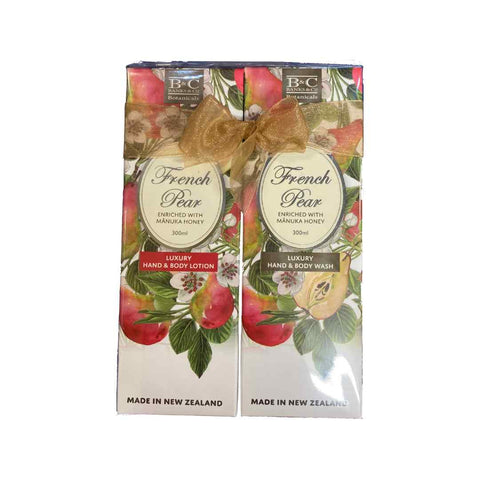 Giftset - French Pear Lotion and Bodywash