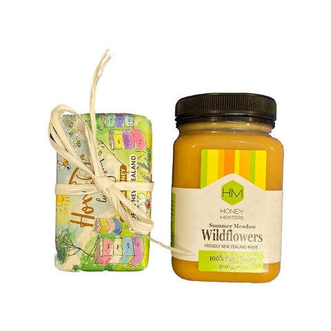 Giftset - Wildflower Honey & Manuka Soap