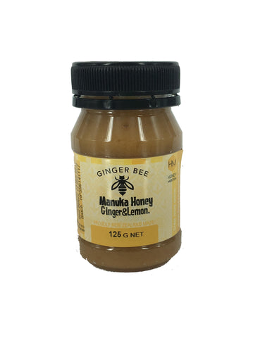 ginger bee natural honey ginger manuka lemon