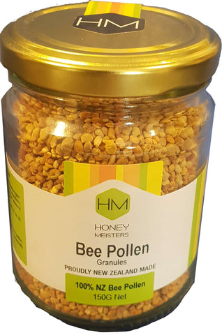 bee pollen nz natural health 150g glass