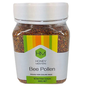 bee pollen health granules honeymeisters