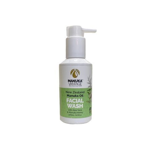 manukavantage facial wash manuka aloe