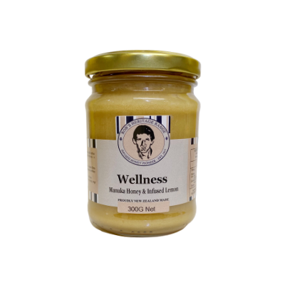 robs heritage wellness manuka lemon spread drink