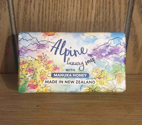 soap manuka honey alpine