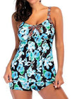 Print  Bow Tied Swimwear - esshe