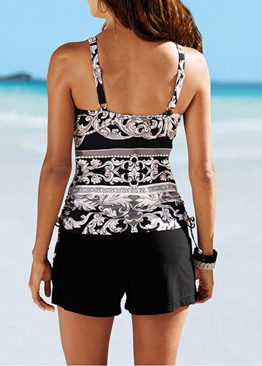 Push Up Halter Tankini