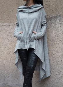 Casual Loose Long Sleeve Hoodies - fashionyanclothes