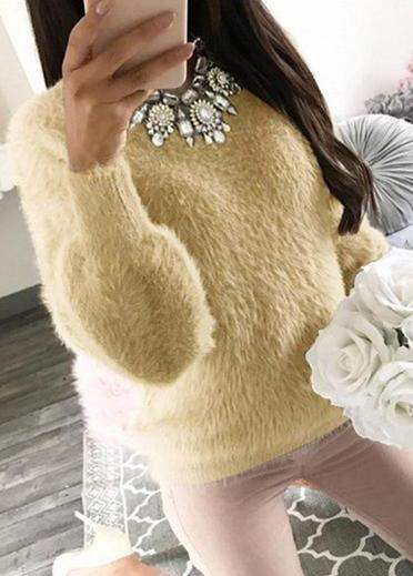 Long Sleeve Warm Sweater - fashionyanclothes