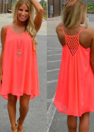 Summer Chiffon Women Dress - fashionyanclothes