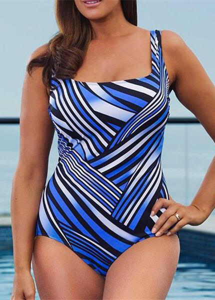 Plus Size Push Up Swimsuits - esshe