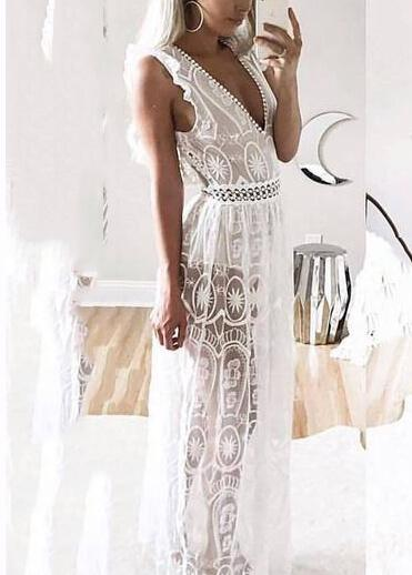 Vintage Style Vestidos Party Maxi Dresses