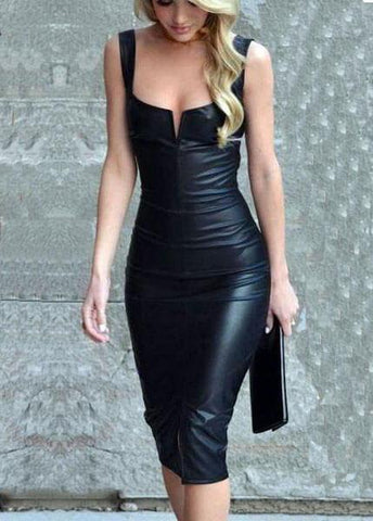 Sleeveless ClubParty Dress - esshe