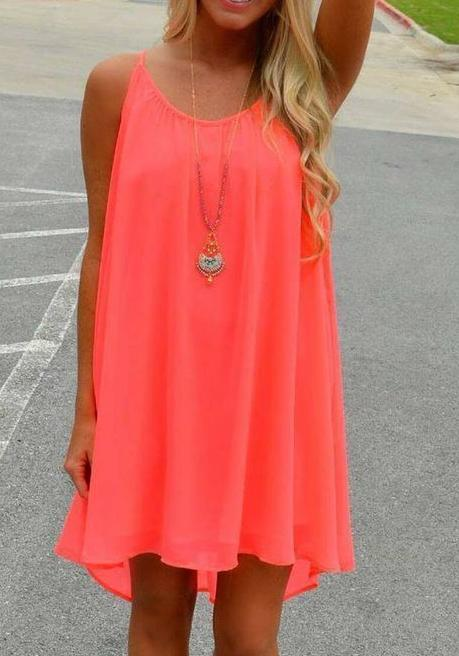 Summer Chiffon Women Dress - esshe