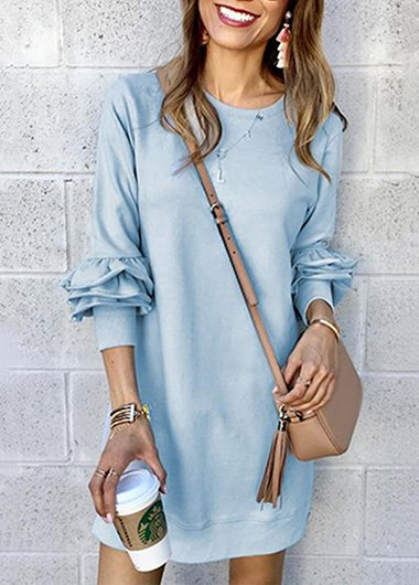Heaps Sleeves Moving Castle Dress - fashionyanclothes