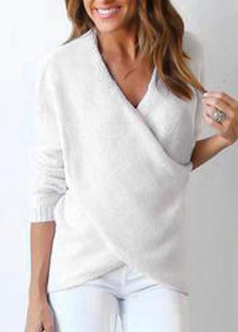 Office Knitted Sweater - fashionyanclothes