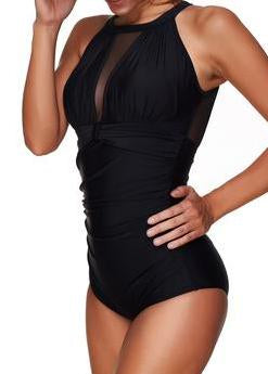 Black High Cut Summer Beachwear - fashionyanclothes