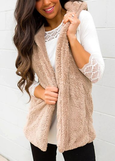 Fashionyan Cozy Teddy Bear Vest - fashionyanclothes