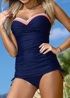 New Patchwork Push Up Swimsuit - fashionyanclothes