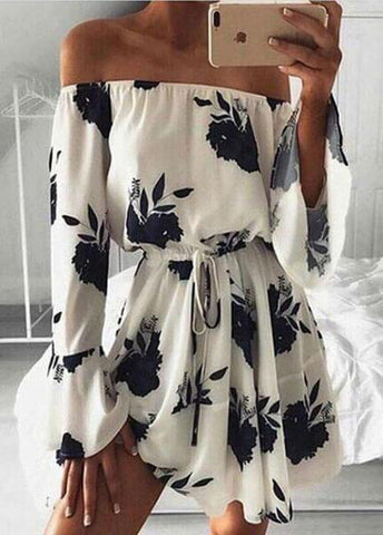 Summer Off Shoulder Dress - esshe