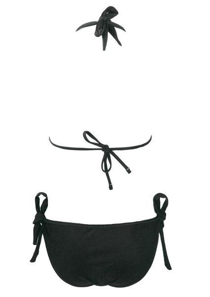 Halter Open Back Zipper Swimsuit - fashionyanclothes