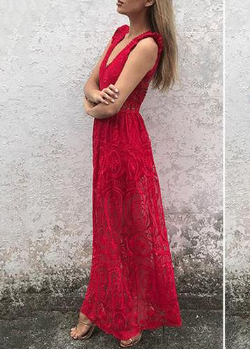 Vintage Style Vestidos Party Maxi Dresses - fashionyanclothes