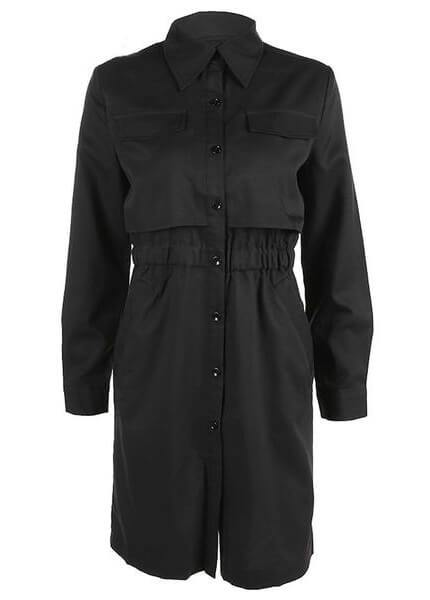 Turn-down Collar Casual Coat