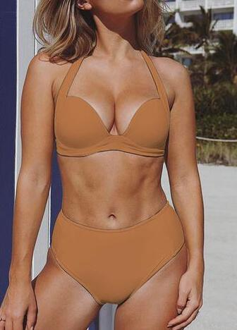 Sexy High Waist Bikini Set - esshe