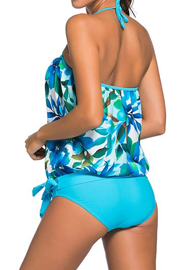 Open Back Swimwear Top and Black Panty - fashionyanclothes